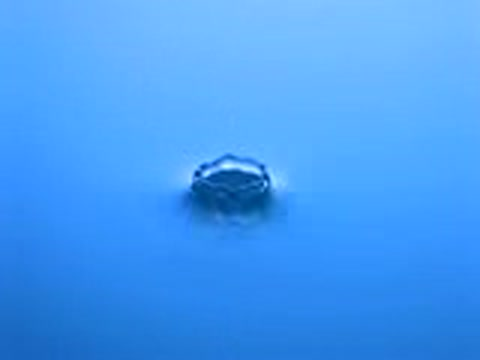 Silikonarmbaender Wassertropfen